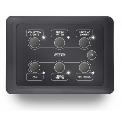 CZone Waterdichte keypad (liggend)