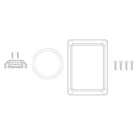 CZone Reservekit onderdelen voor waterdichte keypad