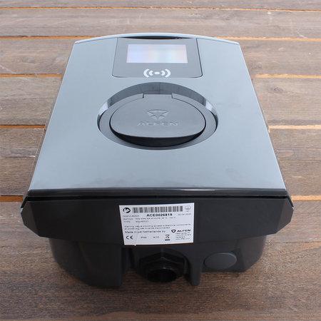 Alfen  Eve Single Pro-line - 3 x 16A (11kW) - Socket - RFID - E-Flux - Load Balancing - Grijs