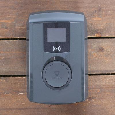 Alfen Eve Single Pro-line - 3 x 16A - Socket - RFID - E-Flux - Grijs