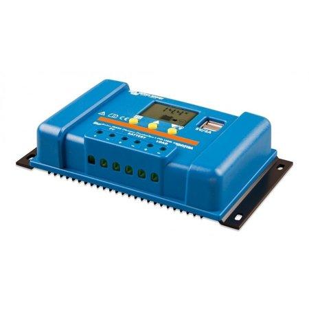Victron BlueSolar PWM 12/24V-10A LCD - USB