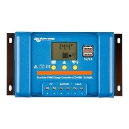 Victron BlueSolar PWM 12/24V-20A LCD - USB