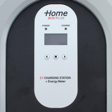 Ratio EV Tesla Home Box Plus type 2, 32A, 3 fase met vaste rechte laadkabel + KWh meter