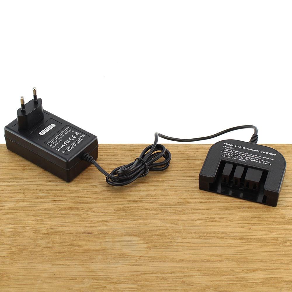 Acculader gereedschap 1,2 18V | Ni-MH | Ni-CD Black & Decker