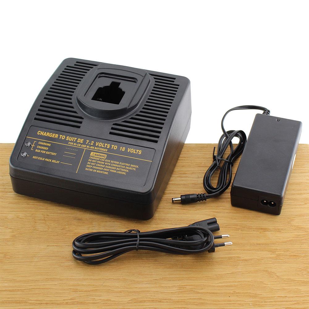 Compatibel lader DE-CH01 7,2-18V