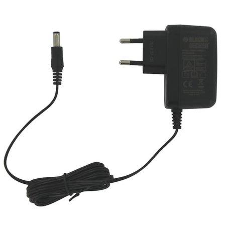 Black & Decker AC adapter 12V 0,21A voor powertools - tuingereedschap