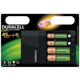 Duracell CEF14 Batterijlader inclusief batterijen
