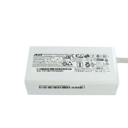 Acer Laptop oplader AC Adapter 65W Wit 3,0 x 1,1mm
