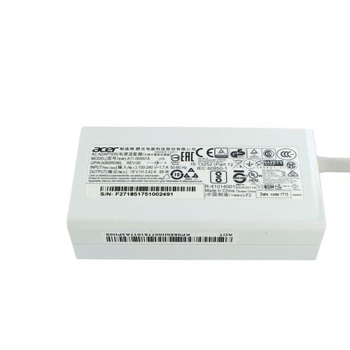 Acer AC adapter 65 Watt White (KP.06503.007)