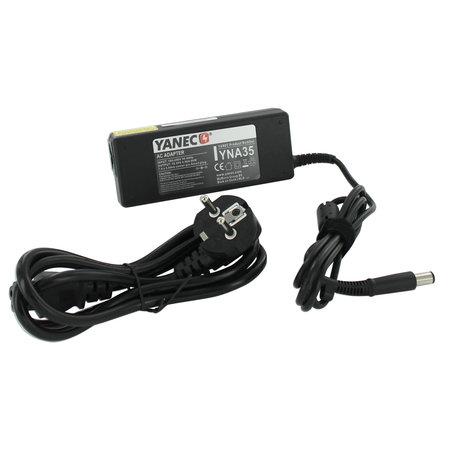 Yanec Laptop oplader AC Adapter 90W voor HP/Compaq   plug 7,4 x 5,0