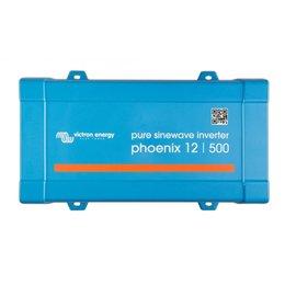 Victron Phoenix 12/500 Omvormer - IEC contactdoos