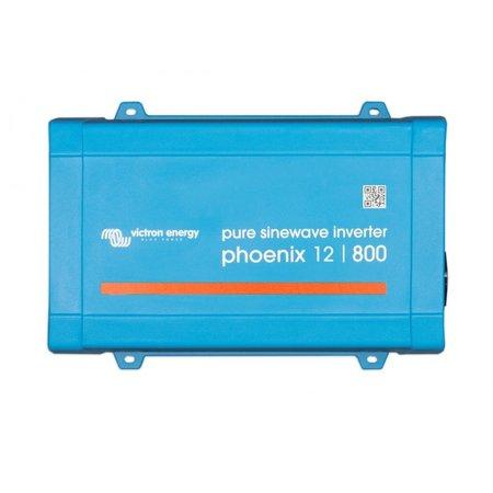 Victron Phoenix 12/800 DC/AC Omvormer - IEC contactdoos