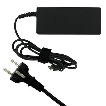 Laptop oplader USB-C AC Adapter 65W - Zwart