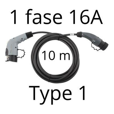 Ratio Laadkabel type 1 - 1 fase 16A  - 10 meter