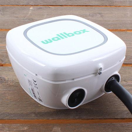 Wallbox Pulsar 7,4 kW - EV Laadstation Wit type 2 met vaste rechte laadkabel