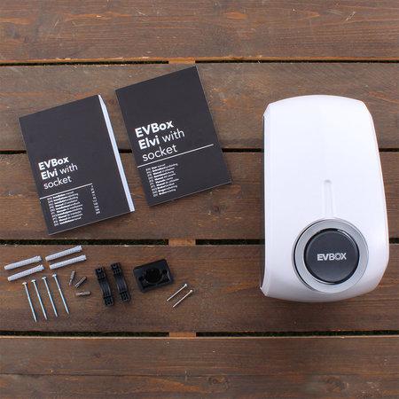 EVBox Elvi 3-fase 32A 22kW Socket Wi-Fi Wit