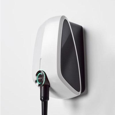 EVBox Elvi 1-fase 32A 7.4kW Type 2 kabel 6m Wi-Fi Wit
