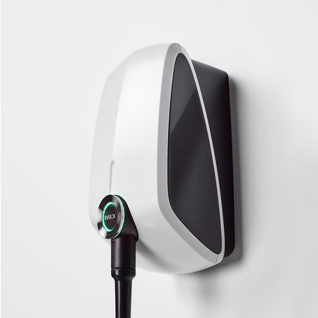 EVBox Elvi 1-fase 32A 7.4kW Type 2 kabel 6m Wi-Fi Wit