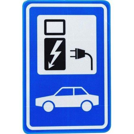 Parkeerbord voor Elektrische Auto of Laadpunt