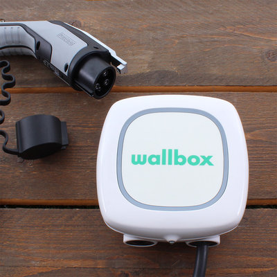 Wallbox Pulsar 7,4 kW - EV Laadstation Wit type 1, vaste laadkabel