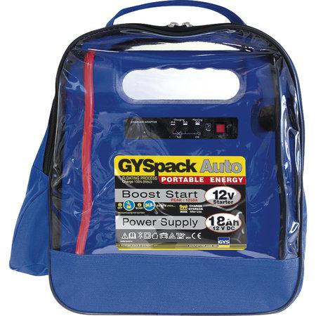 GYS GYSpack Auto - Jumpstarter en 12V voeding