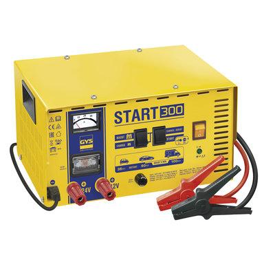 GYS Acculader/booster Start 300 12V/ 24V