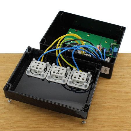 Spelsberg 3-voudig Fietsoplaadstation LED