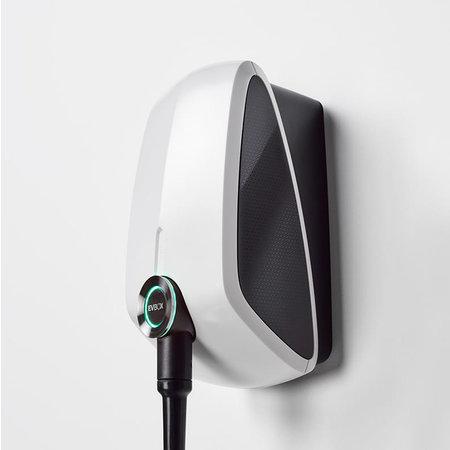 EVBox Elvi 3-fase 32A 22kW Type 2 kabel 8m Wi-Fi/kWh/UMTS Wit