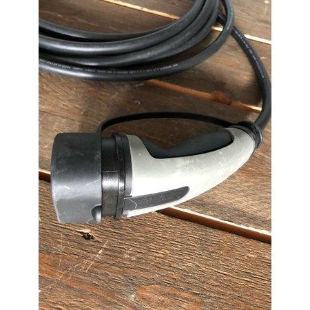 Ratio Laadkabel type 2 - 3  fase 16A - 8 meter - Gebruikt