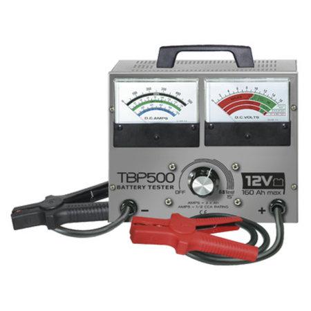 TooLit accutester TBP 500 voor loodaccu's 12V | 10-160Ah | 4 testfuncties