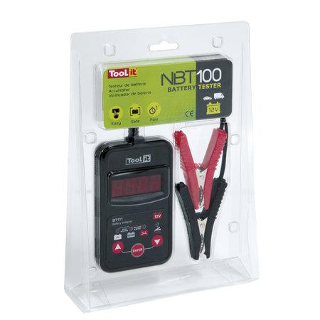 TooLit accutester NBT 100 voor loodaccu's 12V | 20-150Ah