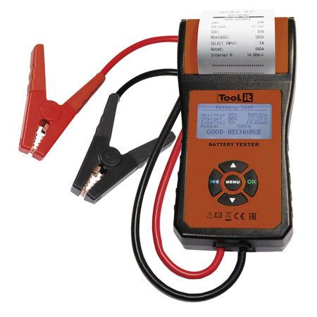 TooLit accutester PBT 550 voor loodaccu's 12V | 30-200Ah | met LCD en printer