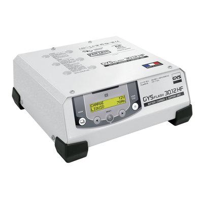GYS acculader met voeding GYSFLASH 30.12 HF