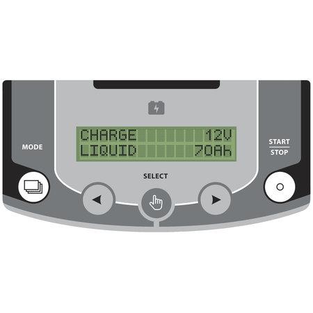 GYS multifunctionele acculader met voeding GYSFLASH 30.12 HF   30A