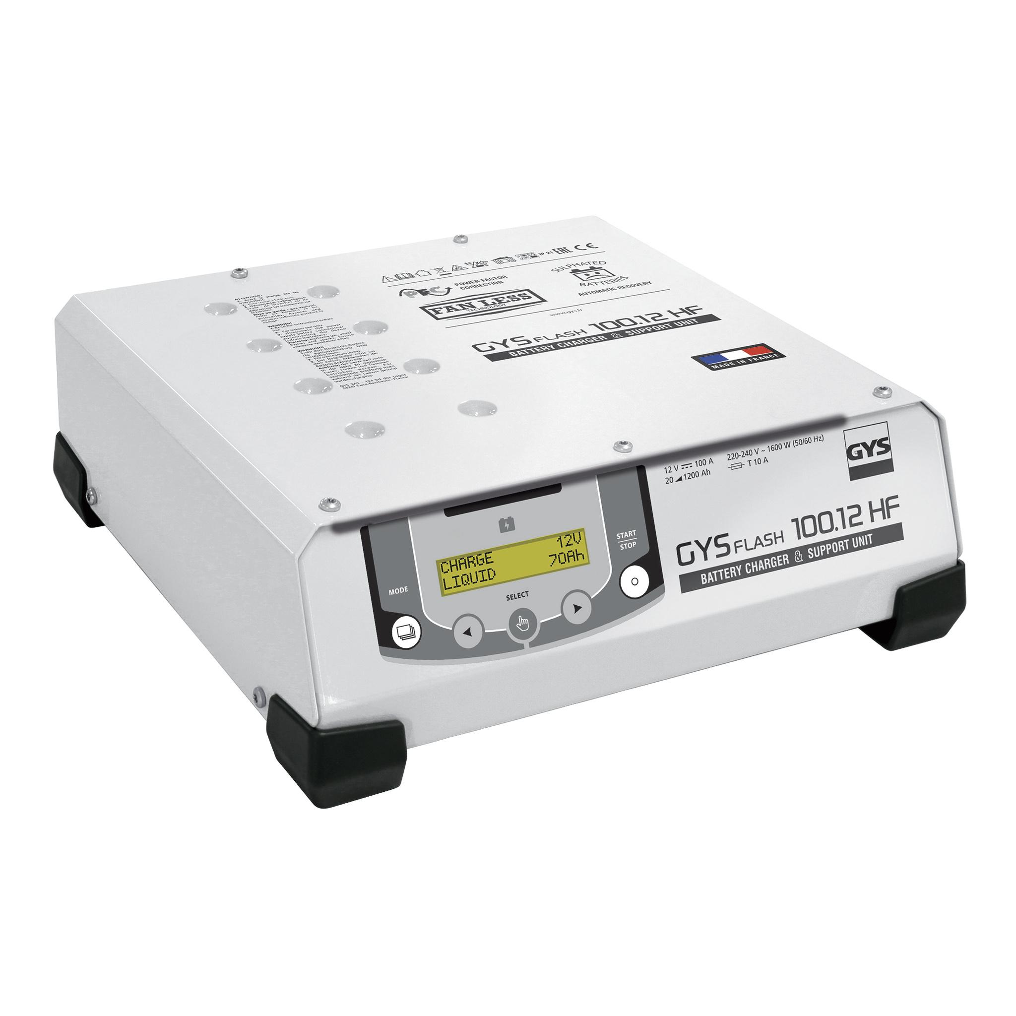 Druppellader GYS GYSFLASH 100.12 HF 12 V 100 A