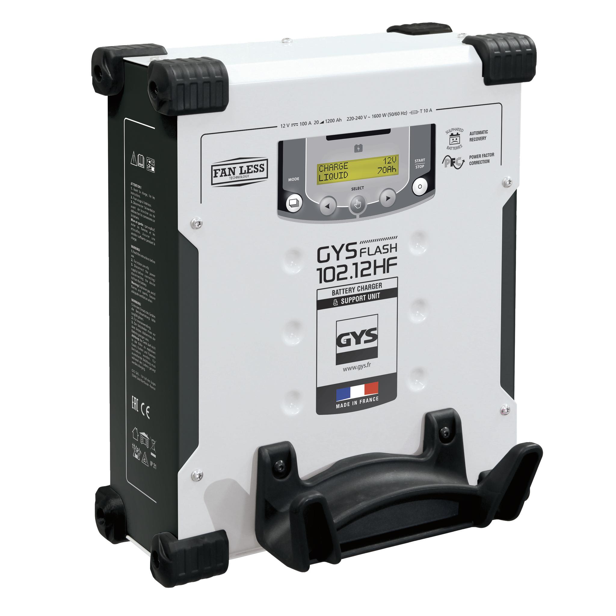 Druppellader GYS GYSFLASH 102.12 HF Vertikal 12 V 100 A