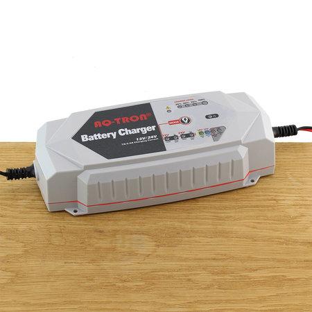 AQ-TRON AQ7000 Acculader/ Druppellader 12V en 24V
