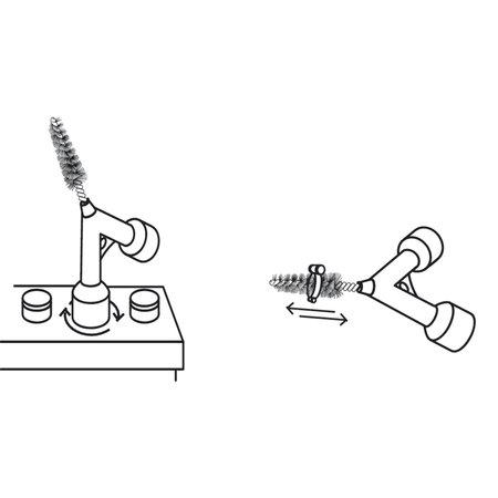 GYS Schoonmaakborstel voor accu terminals
