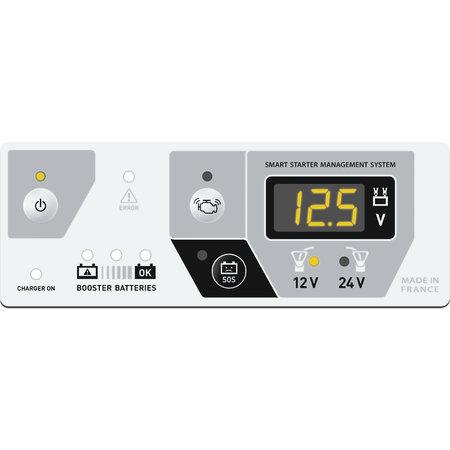 GYS Startpack Pro 12.24 XL - 12V / 24V Jumpstarter