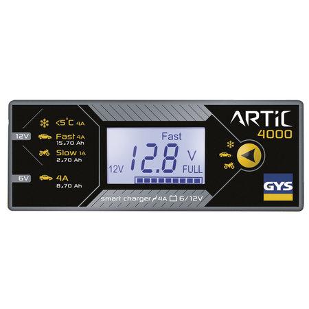 GYS druppellader ARTIC 4000 | 6V/12V 1A/4A 75W