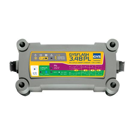 GYS druppellader GYSFLASH 3.48 PL | 48V 3A 195W