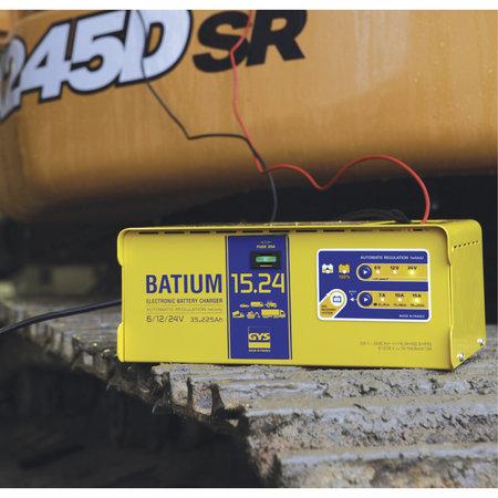 GYS acculader BATIUM 15.24 | 6, 12, 24V | 450W