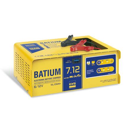 GYS acculader BATIUM 7.12   6, 12V   105W