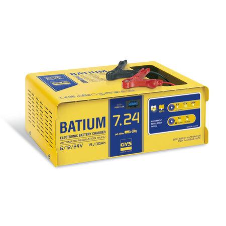 GYS acculader BATIUM 7.24 | 6, 12, 24V | 210W