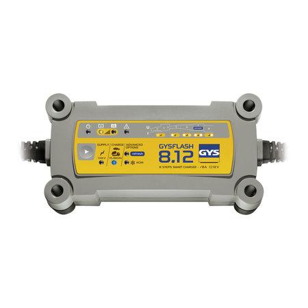 GYS druppellader GYSFLASH 8.12   12V 8A 130W