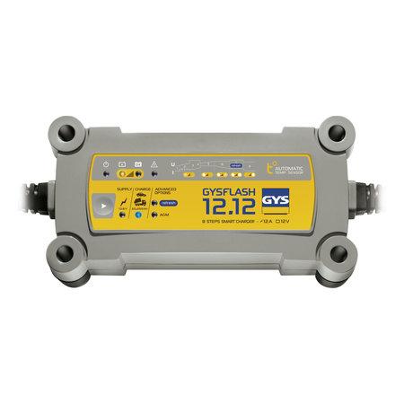 GYS druppellader GYSFLASH 12.12   12V 12A 195W