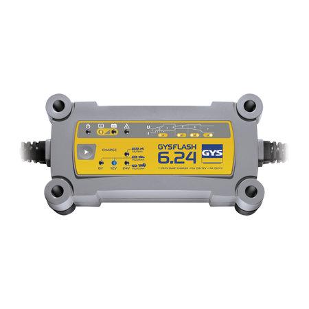 GYS druppellader GYSFLASH 6.24 | 6/12/24V 6/4A 130W