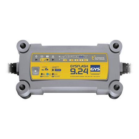 GYS druppellader GYSFLASH 9.24   6/12/24V 9/6A 190W