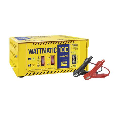 GYS acculader Wattmatic 100 | 6/12V 3/5A 170W