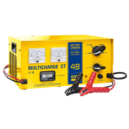 GYS acculader Multicharge CT 48 | 12/24/36/48V max. 32A | 1200W